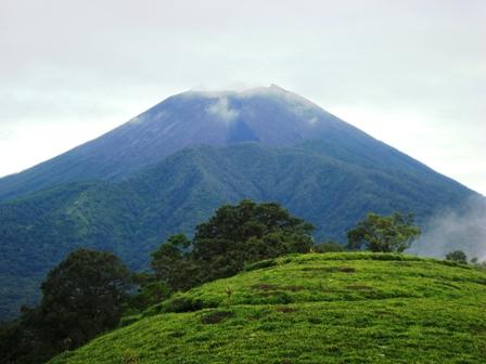 Puncak sakub, dimana kita bisa melihat puncak gunung slamet