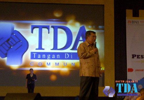 Jusuf Kalla di Pesta Wirausaha TDA 2013, JI Expo, kemayoran