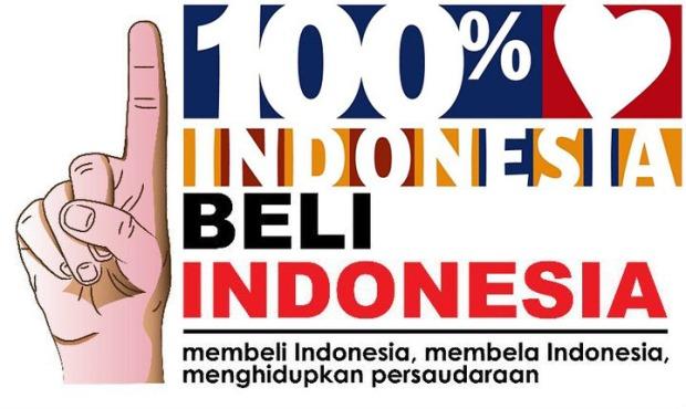 Beli 100 persen Indonesia