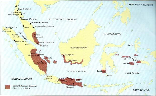 Wilayah Kekuasaan Singosari