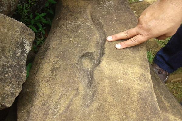 Batu Berlukiskan Kujang