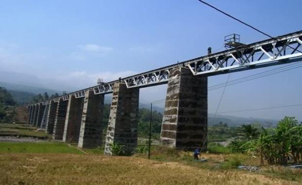 Jembatan KA Sakalibel Bumi Ayu