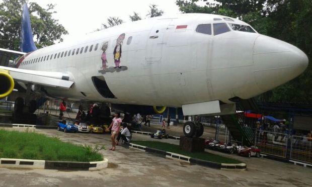 Pesawat mendarat darurat di purin, Tegal